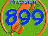 Previsione lotto 899 gratis